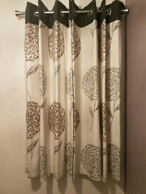 """Next"" Lined Eyelet Curtains"
