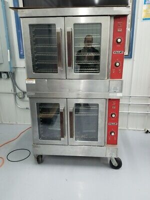 Vulcan Vc4ed-10 Electric Double Deck Full Size Convection Ovens