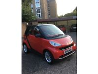 SMART FORTWO PASSION COUPE MHD Red/Black Trim FOR SALE