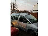 Peugeot EXPERT HDI Taxi 2.0Turbo Diesel very eco cheap very big inside 7 to 8 seater inc driver E7