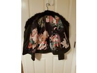 Ladies Ted Baker Leather Jacket Size 8