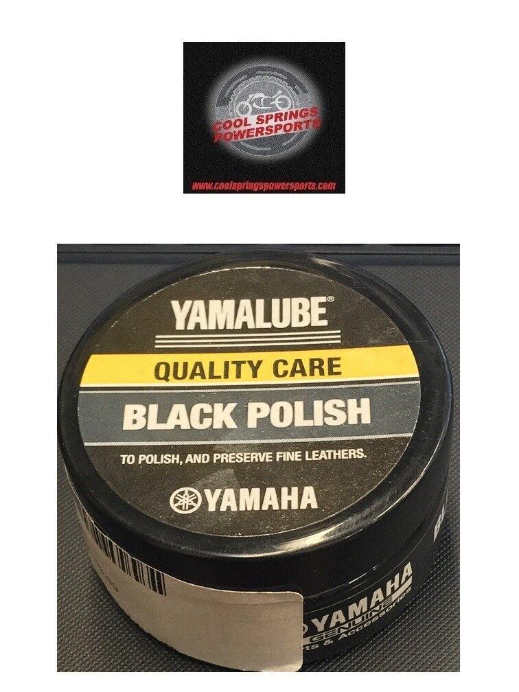 Yamaha Yamalube Black Cream Leather Polish