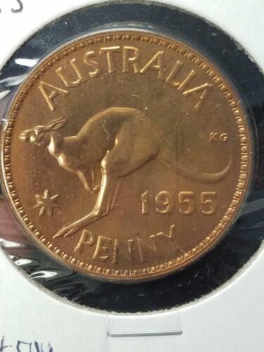 1955 Proof Australia One Penny