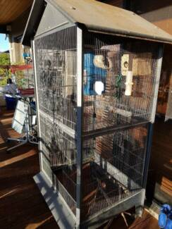 Lots and Lots of Bird Cages .....all sizes .....2 Aviaries.....