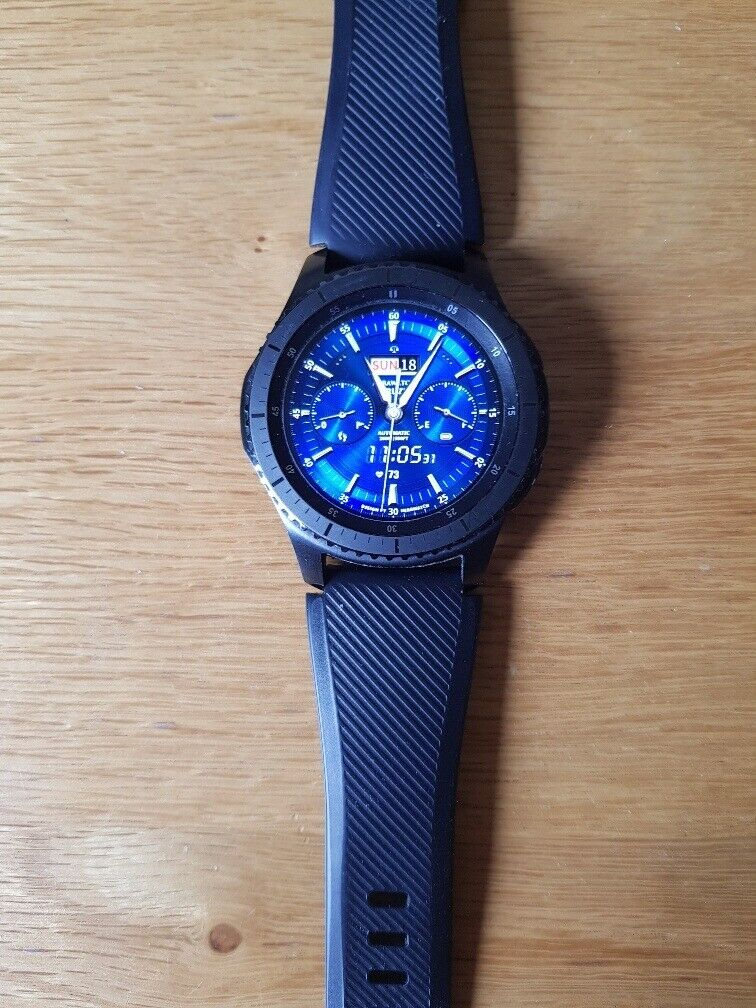Samsung Gear S3 Frontier smart watch | in Mattishall, Norfolk | Gumtree