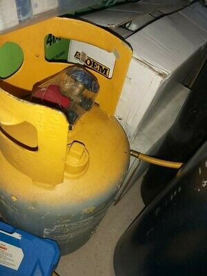 Refrigerant Recovery Reclaim 30lb Cylinder Tank