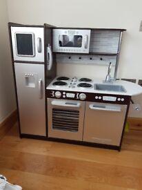 Play Kitchen Set - KidKraft Uptown Espresso Kitchen