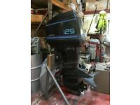 Force 125hp outboard engine