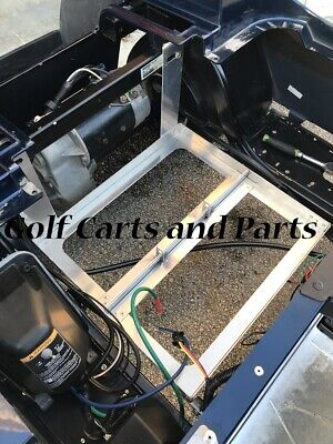 EZGO TXT/MEDALIST 1994 TO 2013 GOLF CART ALUMINUM BATTERY TRAY *Made in USA*