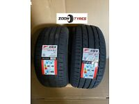 2 X TYRES RIKEN 235 40 18 Y RATED 95 EXTRA LOAD XL PERFORMANCE MADE BY MICHELIN TYRES