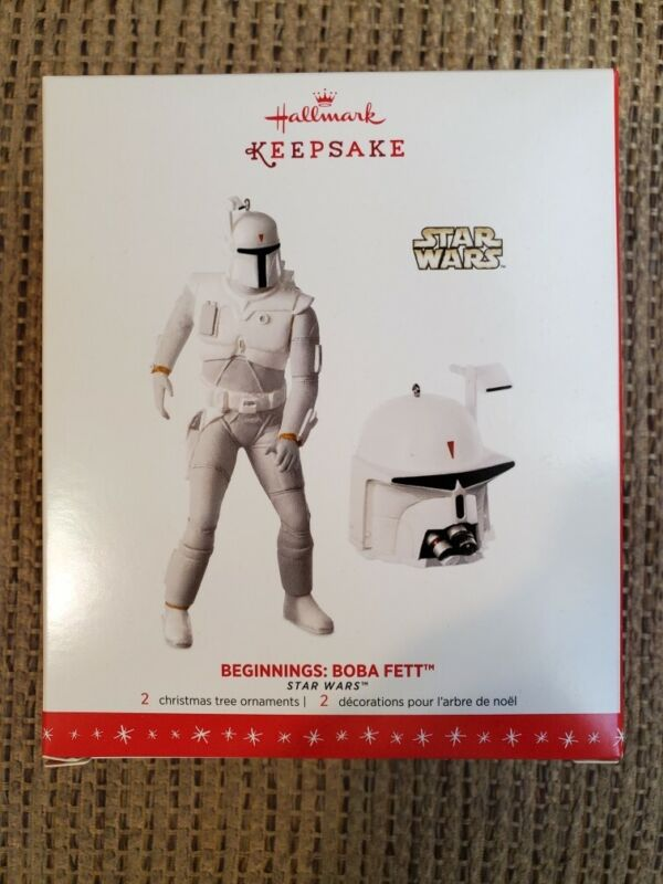 Hallmark Keepsake Ornament Star Wars Beginnings Boba Fett NYCC SDCC Exclusive