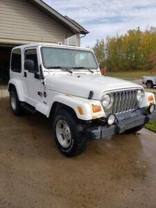 2000 Jeep TJ Sahara for sale