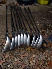 macgregor v foil golf clubs