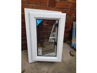 2 x Upvc windows for sale. New but no keys 440mm x 650mm £25 each