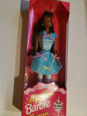 1994 Barbie: My First Barbie Princess African American AA Mattel No 13065 - NRFB