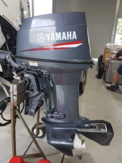 2015 Yamaha 40VMHD low hours Complete service history