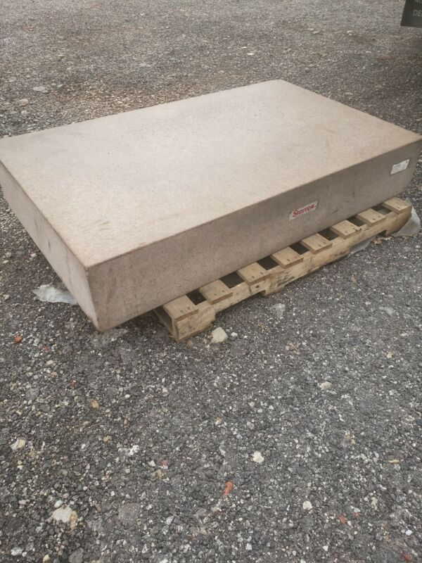"""Starrett granite surface plate 10""""x36""""x60"""""""