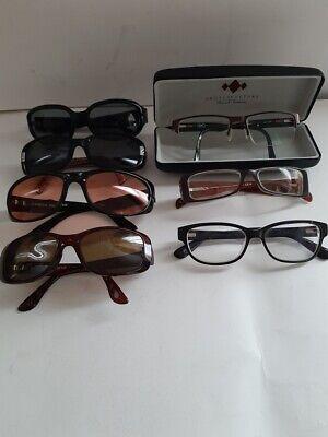 Lot Of 7 Designer RX Eyeglass Frames Only Costa Del (Circle Eyeglass Frames)