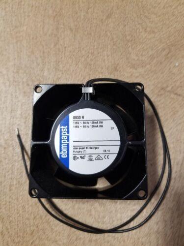 EBM Papst 80mm 120 VAC 8830-N Fan