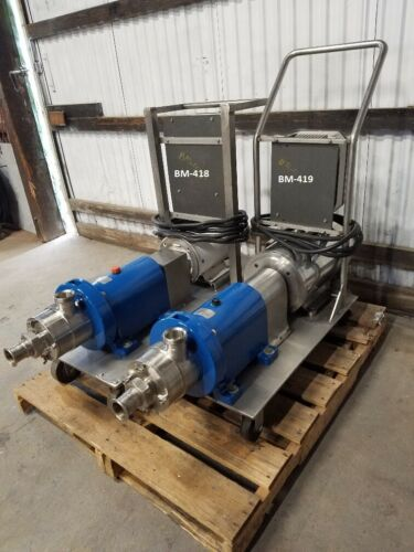 Waukesha Cherry Burrell In line Shear Pump/Mixer, Model SP4