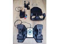 Saitek Pro Flight Yoke, Rudder Pedals and TrackIR5