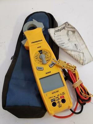 Fieldpiece Sc620 Digital Clamp Meter With Probes Leads Case Set El1058209