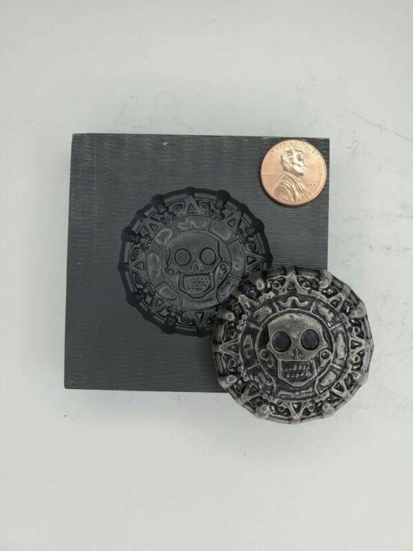Aztec 3D Graphite Ingot Mold for Gold Silver Copper Tin Melting Casting Refining
