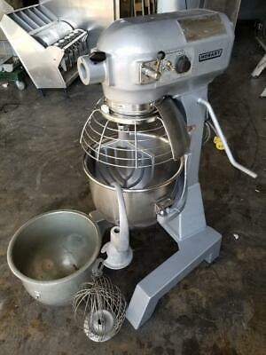 Hobart A-200t 20 Qt Mixer Floor Model Safe Guard Timerss Bowl Bowl 3 Attach