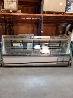 118 Red Meat Deli Display Case. Excellent Condition. Self Contained