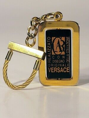 Versace vintage keychain