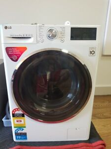9kg LG WASHING MACHINE - AS NEW