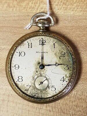 1895-1900 Ingersoll Reliance Pocket Watch 16s 7j - Robt. H. Ingersoll & Bro.