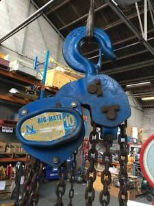 Hoist in melbourne region vic miscellaneous goods gumtree 324 10 ton x 3 meter drop lifting block tackle nobles rigmate fandeluxe Gallery