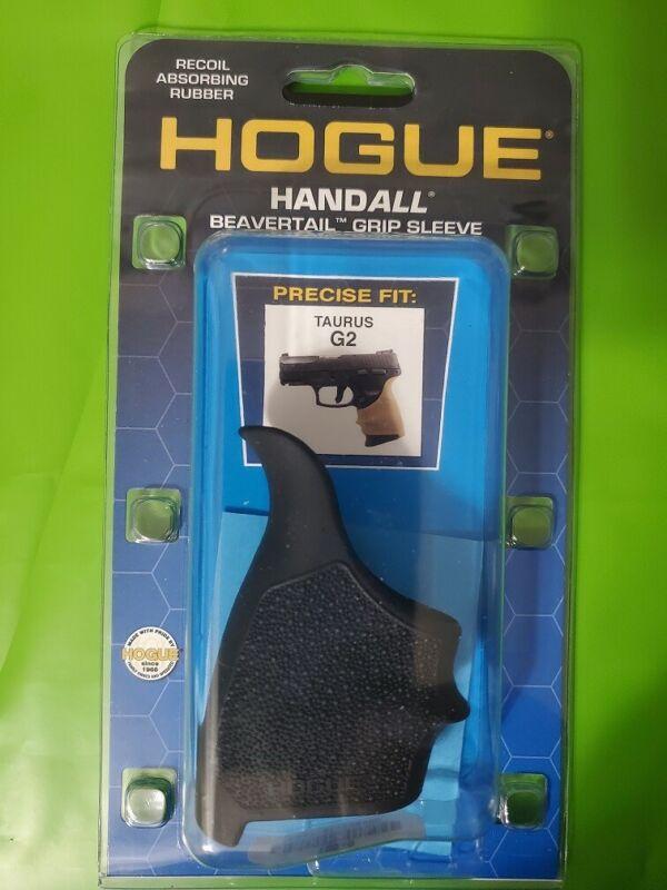 Hogue Beavertail Grip Sleeve for Taurus G2C, G3C, PT111 Mil G2 Black 18510 -NEW