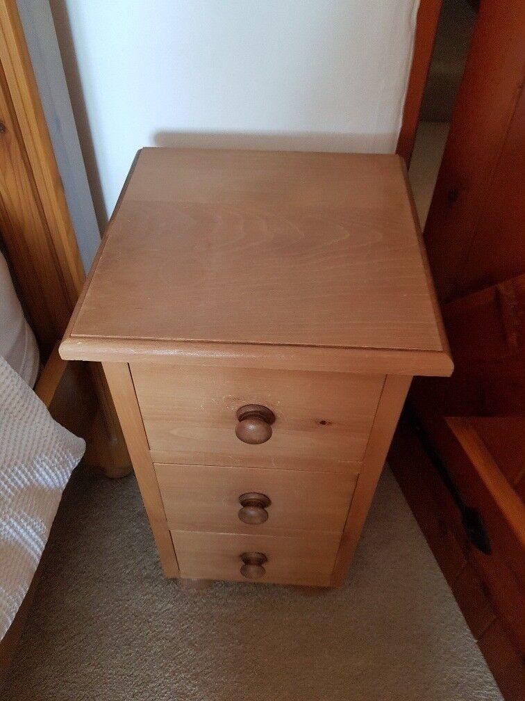 Small Oak Bedside Tables