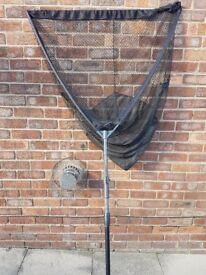 Rod Hutchinson Landing Net, Handle, And Stink Bag