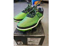 Foot Joy Junior Golf Shoes Green UK4