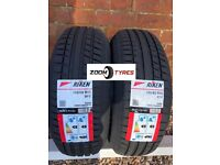 2 TYRES RIKEN 195 65 15 ROAD PERFORMANCE 91 V RATED ZOOM TYRES COVENTRY