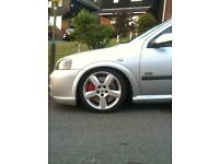 vauxhall astra coupe turbo breaking