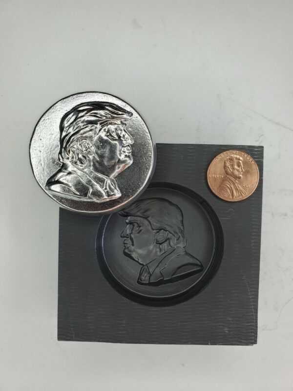 Trump 3D Graphite Ingot Mold for Gold Silver Copper Tin Melting Casting Refining