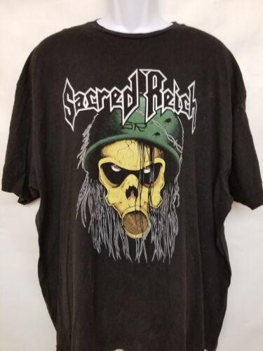 SACRED REICH METAL BAND - ORIGINAL VINTAGE CONCERT TOUR 3X-LARGE T-SHIRT