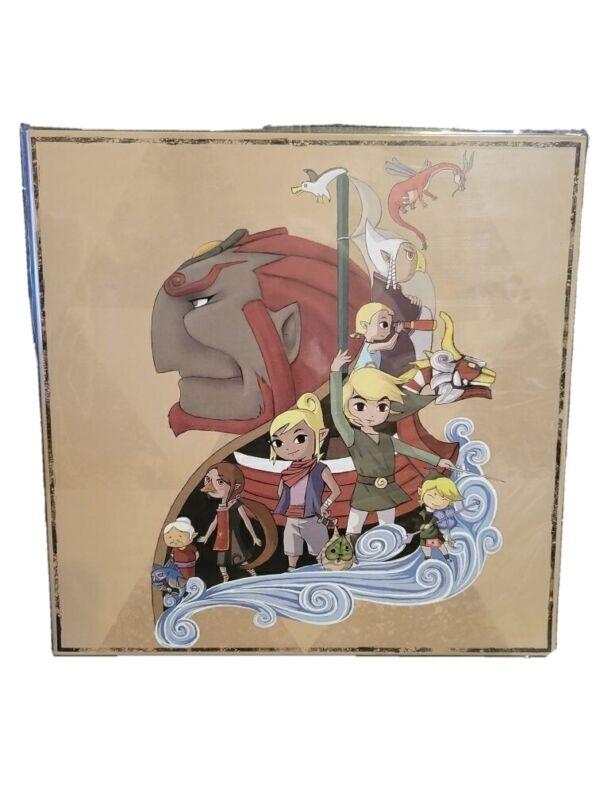The Legend of Zelda Wind Waker Red vinyl soundtrack NOT MOONSHAKE