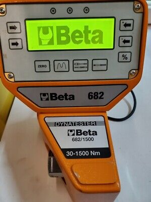 Beta Tools 6821500 Digital Torque Meter With Transducer Dynatester 30-1500nm