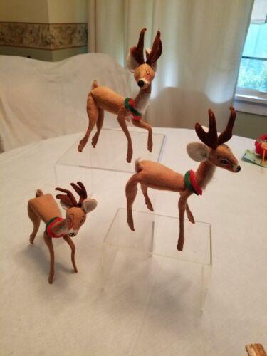 Vintage Annalee Set of 3 Reindeer