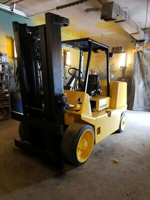 18000 Lb Capacity Hyster S155 Stretch Forklift For Sale