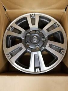 "Brand New 2018 Toyota Tundra 20"" wheels .. w/o TPMS Sensors .. Will also fit Lexus LX470 or LX470"