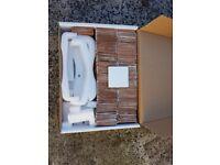 White Ceramic Tiles (100x100mm)