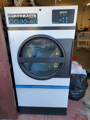 Continental Girbau Cg30-40 30lb 3-phase Commercial Electric Dryer