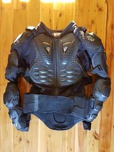 Fox Titan Full Body Armour with Back Protector SMALL Moorebank Liverpool Area Preview