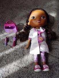 Talking doc mcstuffins doll